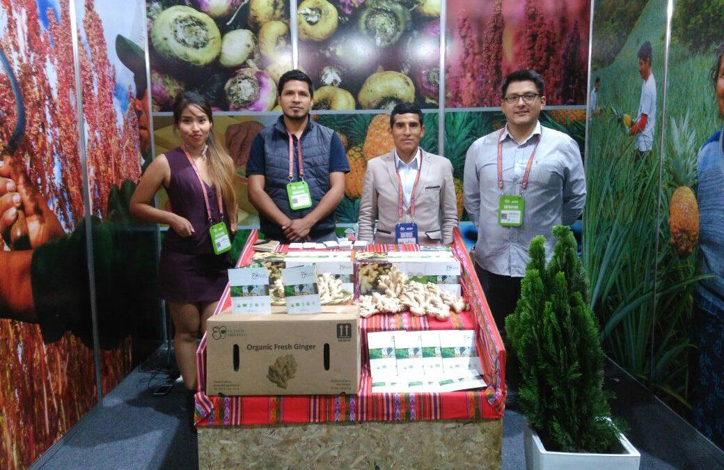 Elisur Organic presente en la feria más importante de América Latina, Expoalimentaria 2017