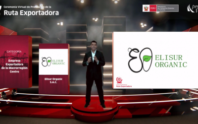 VIDEO Awarded as the most outstanding company in the macro region of central – Peru